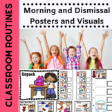 Classroom Morning Rule Posters for Morning Routines  Shell