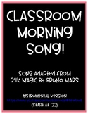 Classroom Morning Song