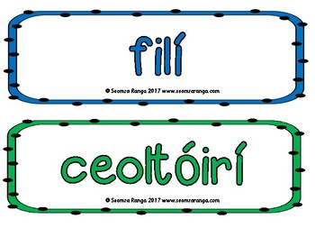 Classroom Motivation Posters 01 (Gaeilge)
