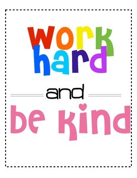 Classroom Motivation Posters