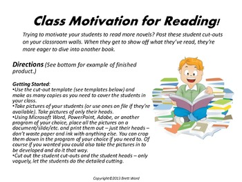 Classroom Motivation for Reading!