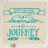 Classroom Motivational Graphic - Optimism