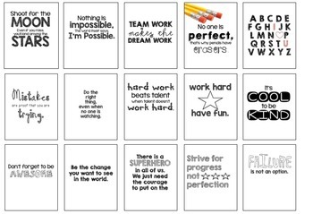 Classroom Motivational Posters {3 styles}