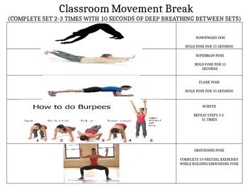 Classroom Movement Break