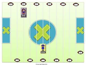 Classroom Multiplication System (Football)