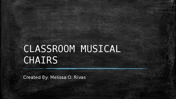 Classroom Musical Chairs