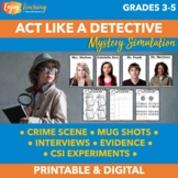 Mystery Simulation - CSI Detective Activities and Science Labs