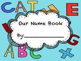 Classroom Name Book