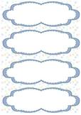 Classroom Name Plate / Name Tag Template