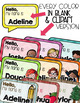 Classroom Name Tags {for anything!}