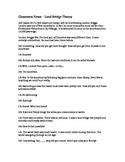 Classroom News - Land Bridge Theory