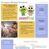 Classroom Newsletter Bundle