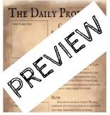 Classroom Newsletter - Daily Prophet