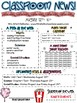 Classroom Newsletter- EDITABLE - Circus