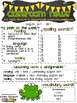 Classroom Newsletter- Frog Themed- EDITABLE