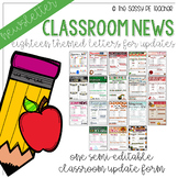 Classroom Newsletter {Growing} Bundle