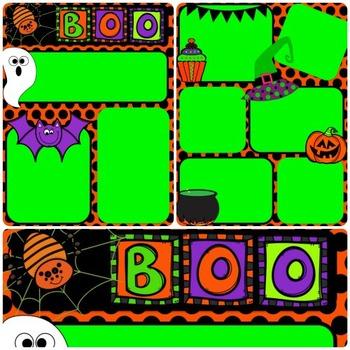 Classroom Newsletter: Halloween Edition [EDITABLE]
