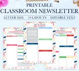 Classroom Newsletter, School Newsletter Template, Classroo