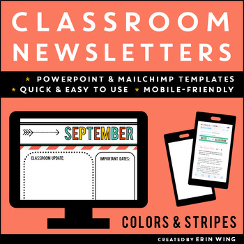 Newsletters for the Classroom