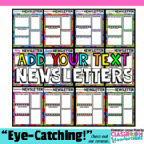 Editable Newsletter Templates: Monthly Newsletters