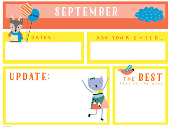 Classroom Newsletter Templates: Storybook Style