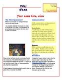Classroom Newsletter Word Template