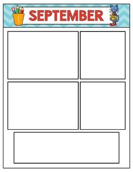 Classroom Newsletters  - Editable {Groovy Cat}
