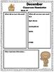 Classroom Newsletters - SEASONAL AND EDITABLE