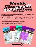 Classroom Newsletters Sneak Peek
