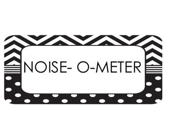 Classroom Noise Level Chart