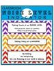 Classroom Noise Level Indicator Chart/Poster