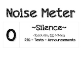 """Classroom """"Noise Meter"""""""