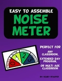 Classroom Noise Meter Poster