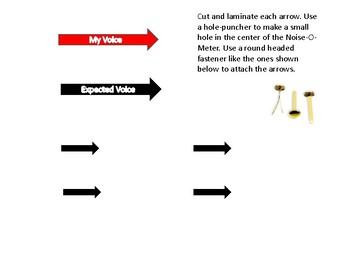 Classroom Noise Meter Set