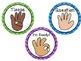 Classroom Non-Verbal Hand Signals (Chevron)