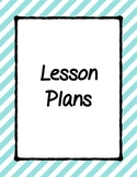 Classroom Notebook Cover Pages- Binder Cover Pages- Lesson Plans Cover Page