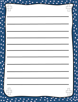 Classroom Notes with Crosses