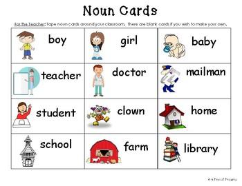 Classroom Noun Search
