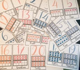 Classroom Number Decor With Ten Frames! Numbers 0-20!