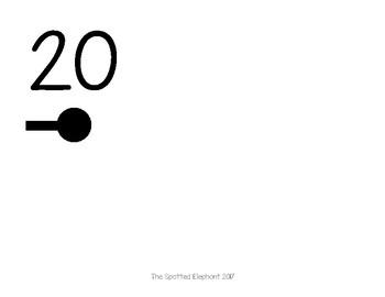 Classroom Number Line (0-20)