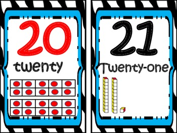 Number Line (Classroom Display)