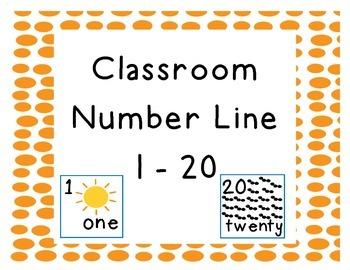 Classroom Number Line