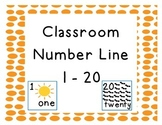Classroom Number Line