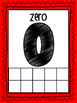 Classroom Number Posters 0-20 with ten frames