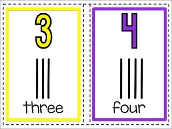 Classroom Number Posters (White Edition)