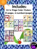 Classroom Number Posters with Ten Frames - Theme Inspired By Eric Carle