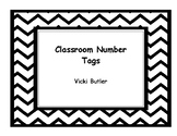 Classroom Number Tags