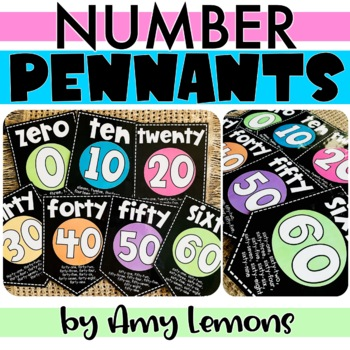 Classroom Number Words {Chalk}
