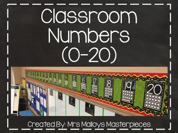 Classroom Numbers (0-20)