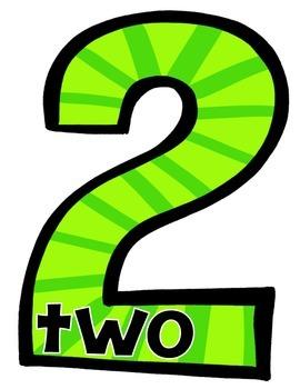 Classroom Numbers {Cardinal Numbers 0-20 & Ordinal Numbers 1-10}